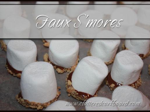 Simple Faux S'mores recipe