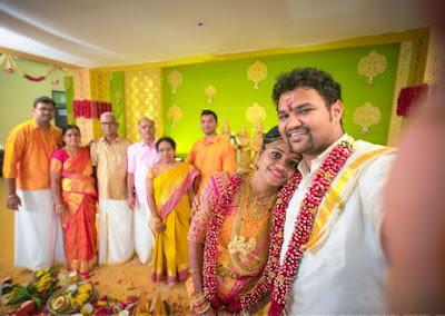 happy-couple-Bhargavi-satyaprakash