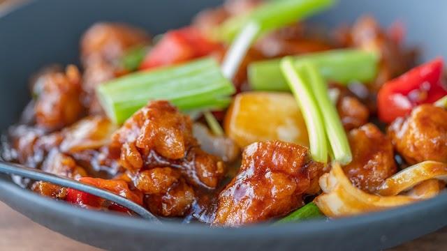 Chilli chicken dry recipe | How to make easy dry chilli chicken