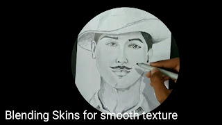 How to draw Bhagat Singh step by step, drawing for kids, learn to draw Bhagat Singh