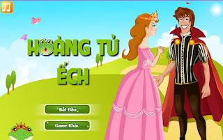 Chơi game thời trang hoàng tử ếch hấp dẫn