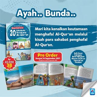 20 Sahabat Penghafal Al-Qur'an