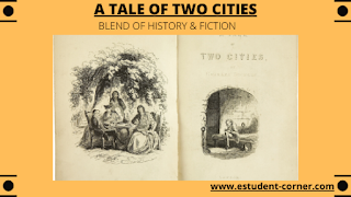 Discuss A tale of two cities as a historical novel, historical fiction notes