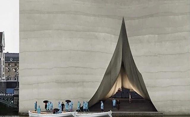 Σουηδία: To εντυπωσιακό «Μνημείο του Ξεφαντώματος» στο Γκέτεμποργκ