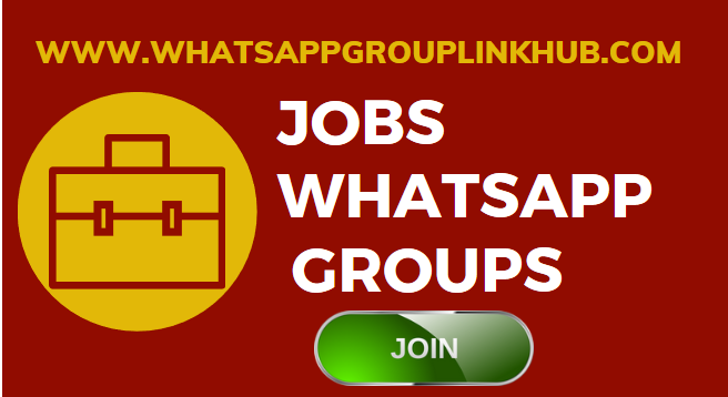 Jobs Whatsapp Group Links - Whatsapp Group Links 2019-3784