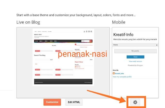 Cara Memasang Template yang Telah di Download