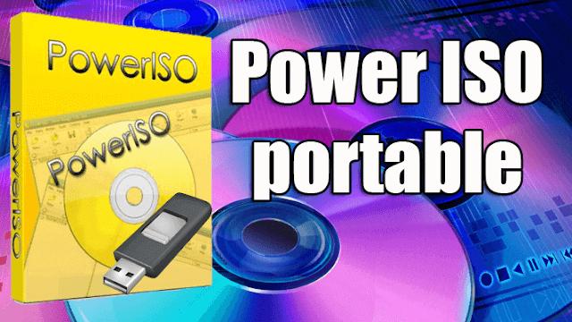 برنامج PowerISO عربى
