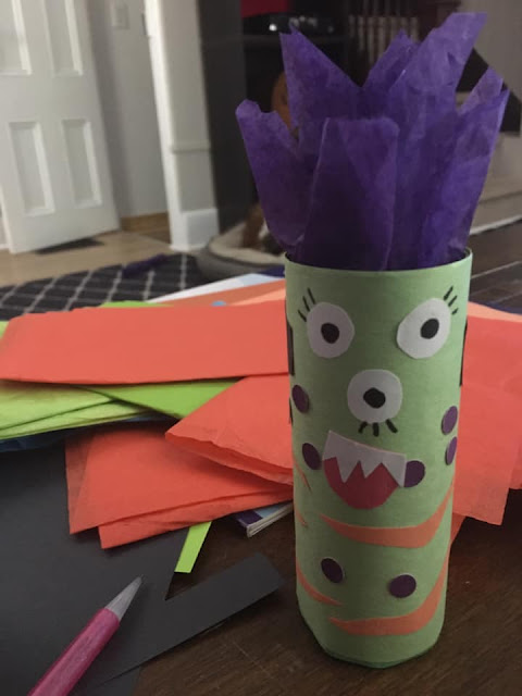 Make your own monster kids craft