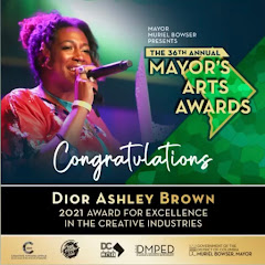 DC Mayor's Arts Award Winner