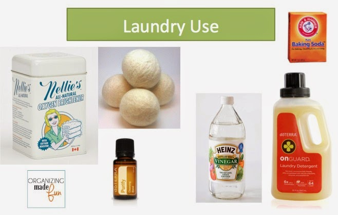 Laundry Tips using essential Oils :: OrganizingMadeFun.com