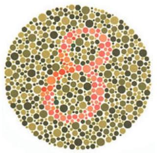 test buta warna 7 plate