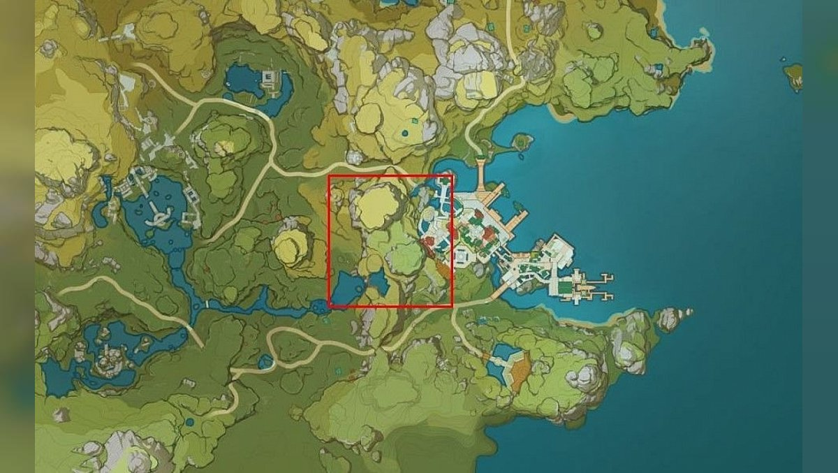 How to get to the Jade Palace map