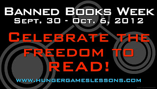Hunger Games Lessons, Banned Books Week
