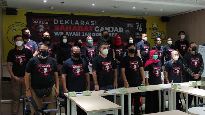 Sahabat Ganjar dari 34 Provinsi Deklarasi Dukung Ganjar Pranowo 2024-2029