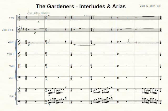 Robert Hugill - The Gardeners: Interludes and Arias
