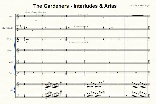 Robert Hugill - The Gardeners: Interludes and Arias