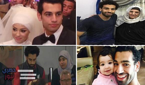هدية محمد صلاح لوالدته وزوجته ووالدتها في عيد الأم