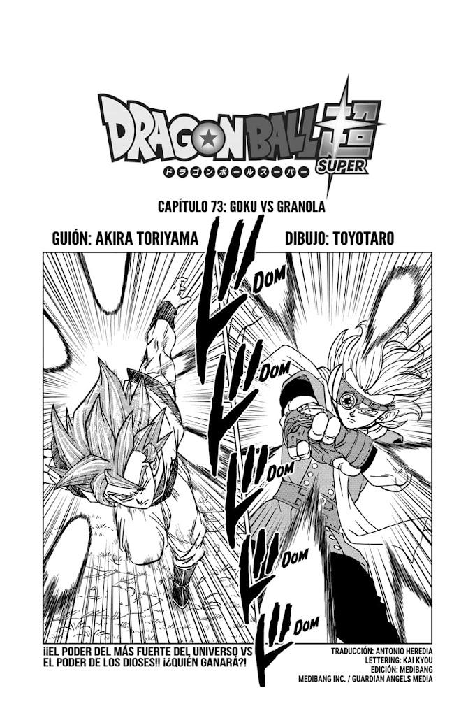 Dragon Ball Super Manga 73 Español