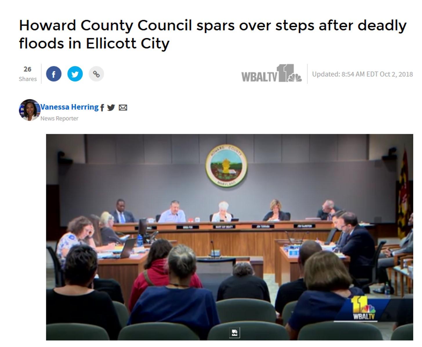 wbal coverage of ellicott city vote