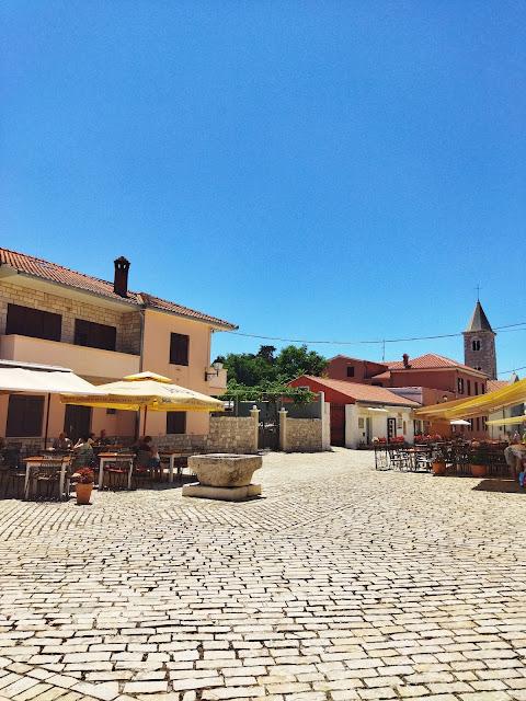starówka w mieście Nin, koło Zadaru, Chorwacja