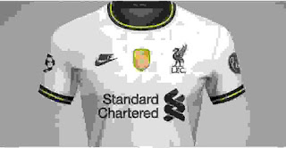 gambar bocoran jersey liverpool musim 2020-2021