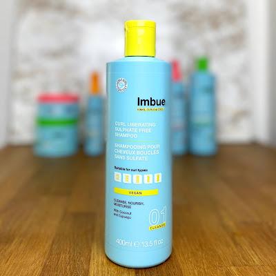 Curl Liberating Sulphate Free Shampoo Imbue Haarpflege für welliges und lockiges Haar nach der Curly Girl Methode