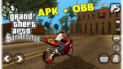 gta san andreas apk + data highly compressed in 400mb