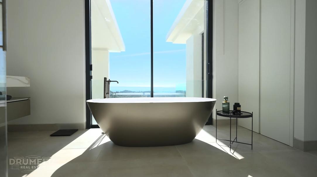 Luxury Modern Villa In El Madroñal Marbella W/ Panoramic Sea Views Interior Design Tour