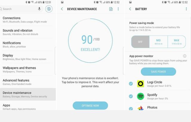 Tip dan Trik untuk Mengoptimalkan Samsung Galaxy S9 / S9 + Anda 8
