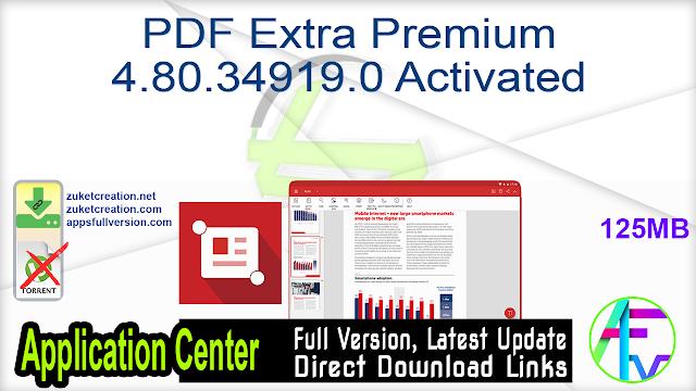 PDF Extra Premium 4.80.34919.0 Activated
