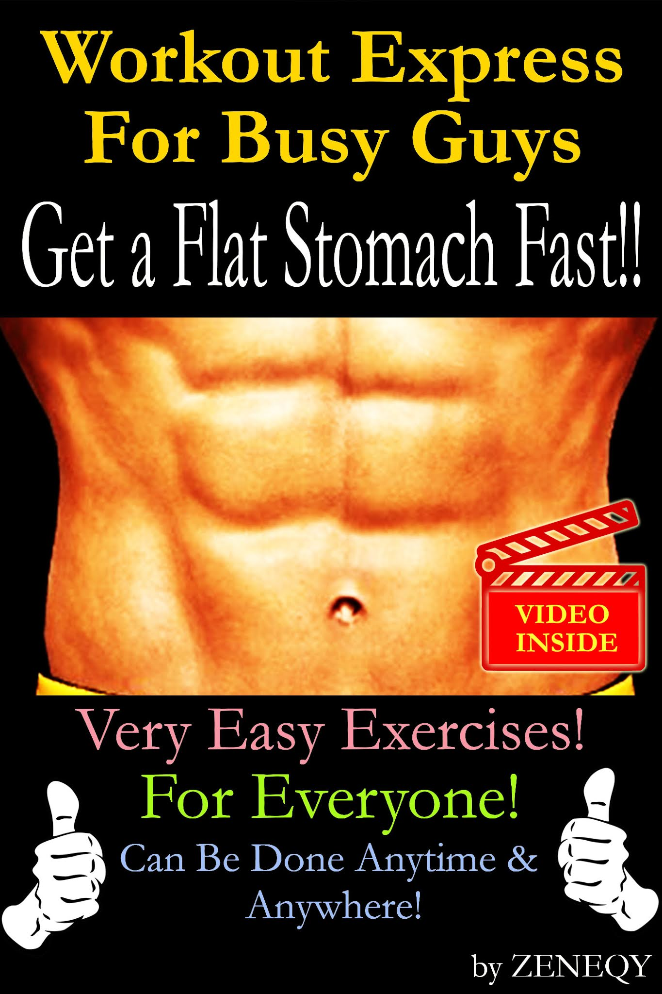Workout Express For Busy Guys: Get A Flat Stomach Fast!!