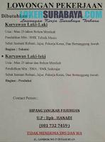 Karir Surabaya Terbaru di Bipang Jangkar Pasuruan Juli 2019