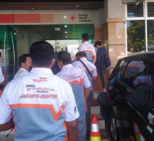 Yamaha Vixion Club Indonesia Jakarta Chapter Rutin Donor Darah