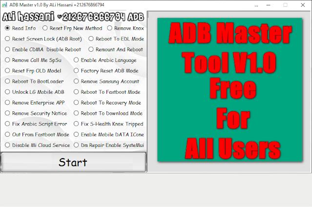 ADB Master v1.0 Free By ALi Hassani  (FREE Download)