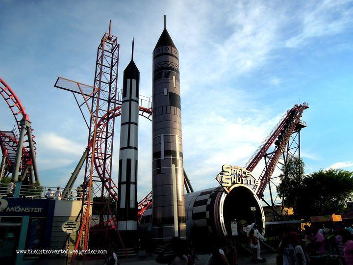 Space Shuttle at Enchanted Kingdom (EK)