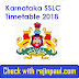 Karnataka SSLC Time Table 2018 10th Exam PDF Download kseeb.kar.nic.in