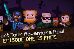 Minecraft Story Mode Season 1 Full Complete Episode 1-8 [640 MB] Android