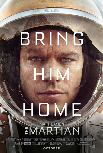 Poster of The Martian 2015 Extended 720p Dual Audio BluRay With ESubs Download