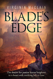 SPFBO 5 Interview: Virginia McClain, author of Blade's Edge