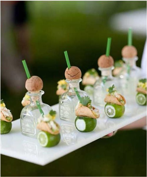 """Cocktail Wedding Ideas: The Wedding Insiders: Cocktail Hour Ideas That """"Wow"""""""