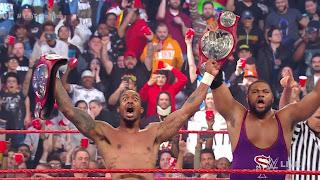 WWE - The Street Profits se coronan por parejas en RAW