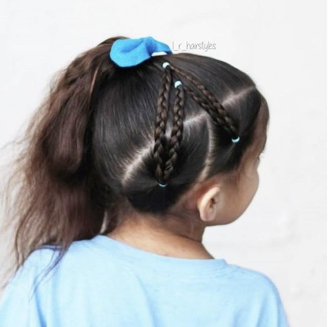 little white girl braids 2019