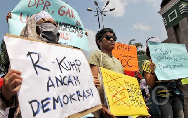 YLBHI: Pasal Penghinaan di RUU KUHP Tunjukkan Presiden-DPR Antikritik