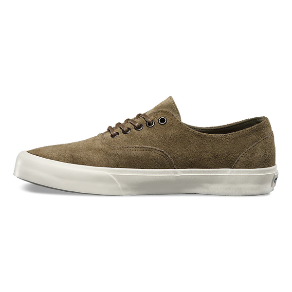 aa89378e14 New Vans California in Store and Online 10.1.15. Vans California Raw Suede Era  Decon CA. Dark Olive Cork.