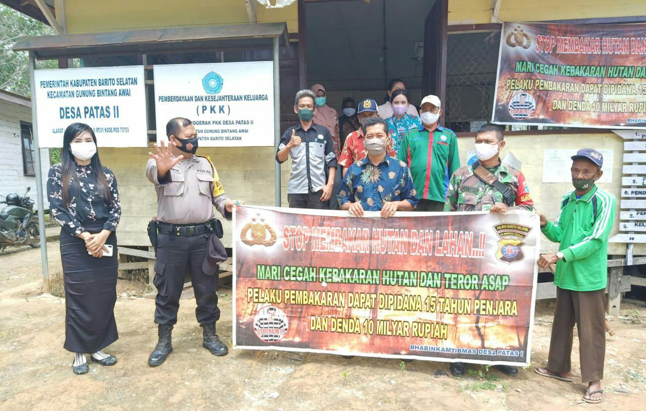 Hadiri Rapat RKPD, Bhabinkamtibmas Desa Patas Sampaikan Ini