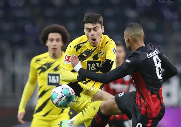 مشاهدة اهداف وملخص مباراة بوروسيا دورتموند وآينتراخت فرانكفورت 1-1 في الدوري الالماني