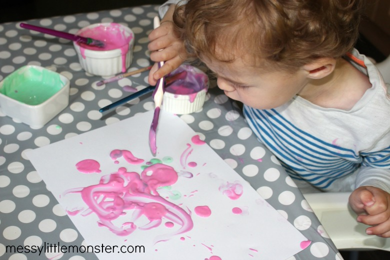 paint for babies