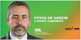 UM ARGIVAENSE NO PARLAMENTO: Afonso Oliveira Deputado eleito