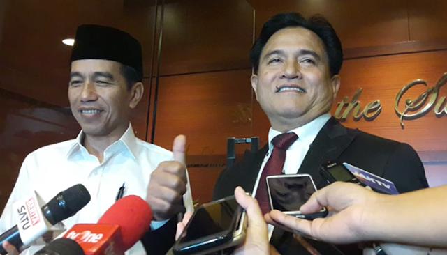 Gerindra: Yusril Kalap, Menghalalkan Segala Cara Takut Jokowi Kalah