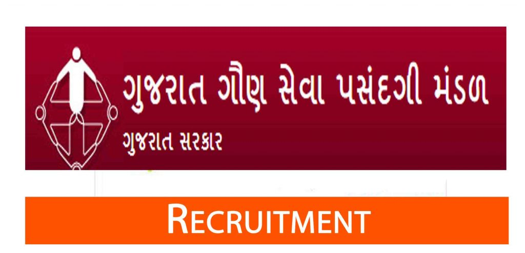 GSSSB Recruitment For 2367 Posts 2019
